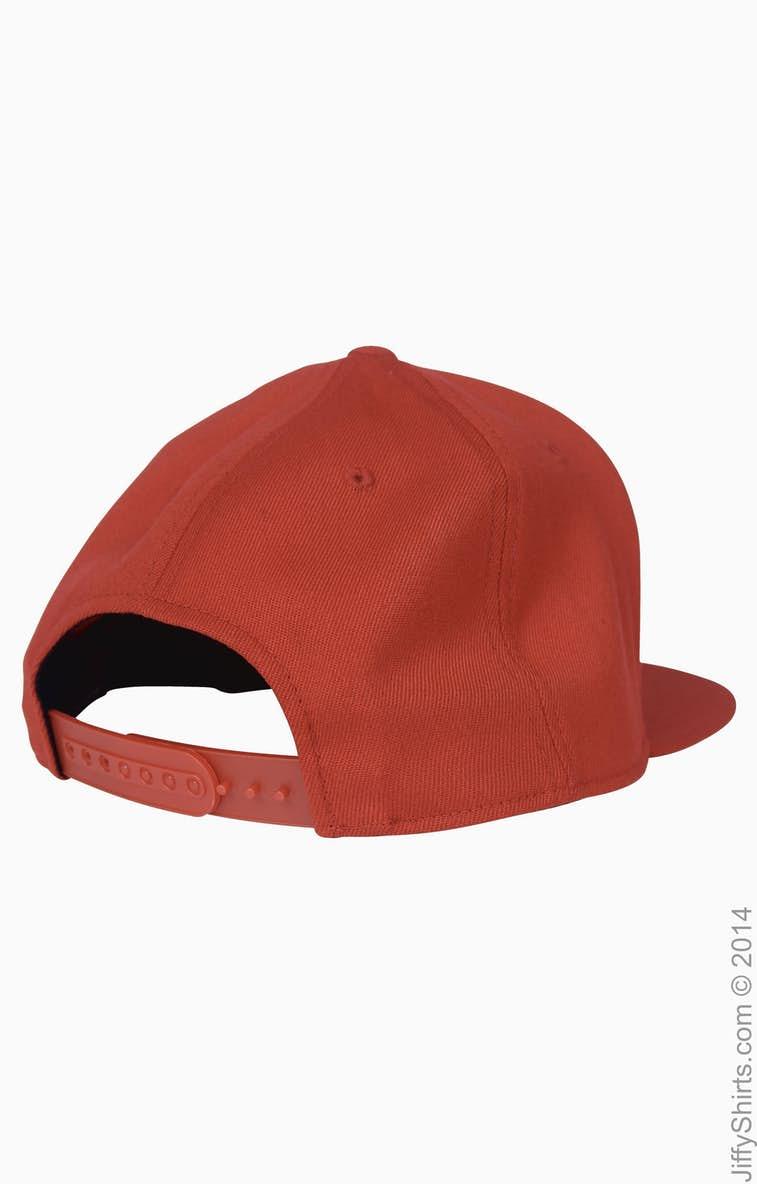 da968bb50 Flexfit 110F Adult Wool Blend Snapback Cap - JiffyShirts.com