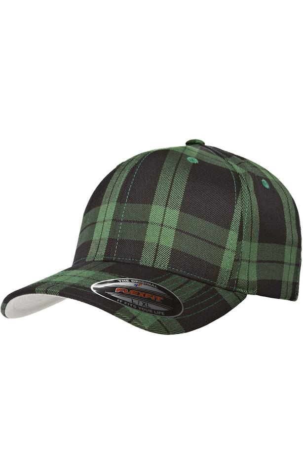 Yupoong 6197 Black/Green