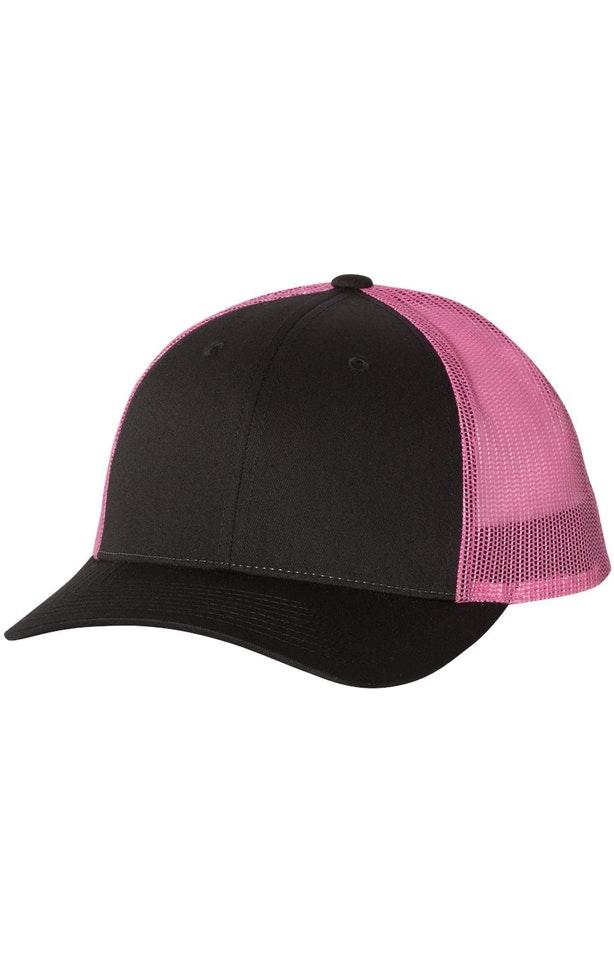Richardson 115J1 Black/ Neon Pink