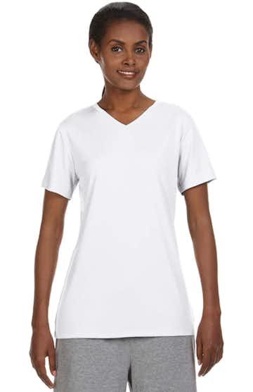 Hanes 483V White