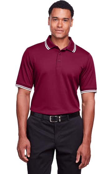 Devon & Jones DG20C BURGUNDY/ WHITE