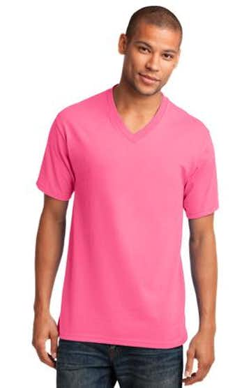 Port & Company PC54V Neon Pink