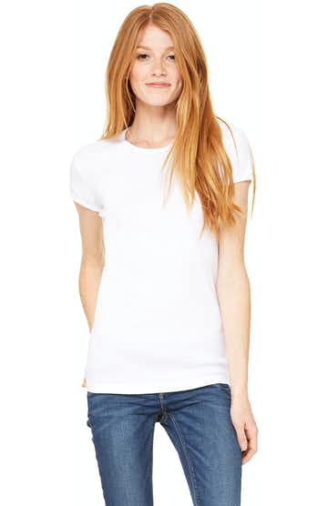 Bella + Canvas 1001 White
