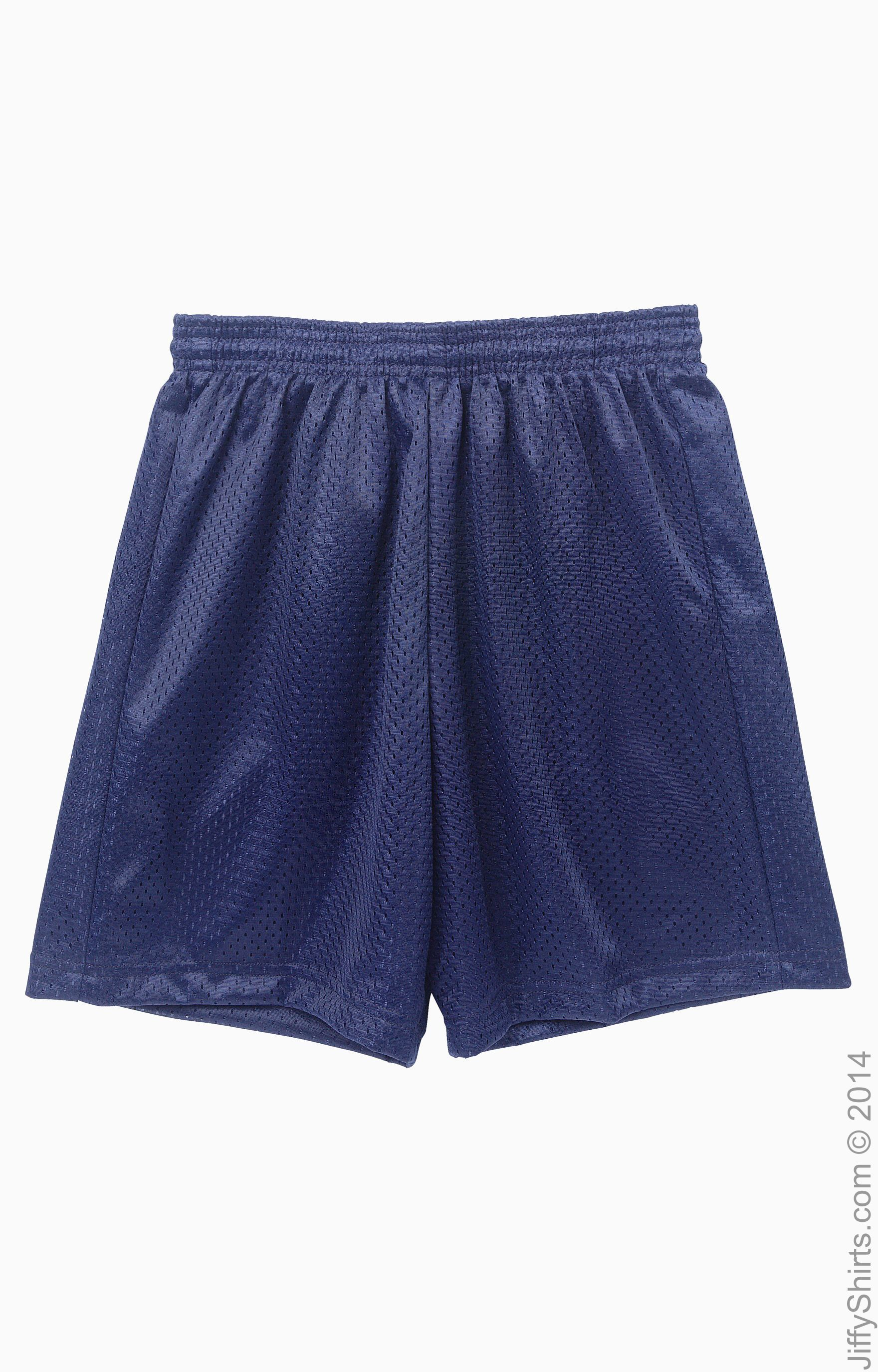 NEW Boys Shorts Size Medium 8-10 Solid Blue Casual Basketball Sports Gym PE