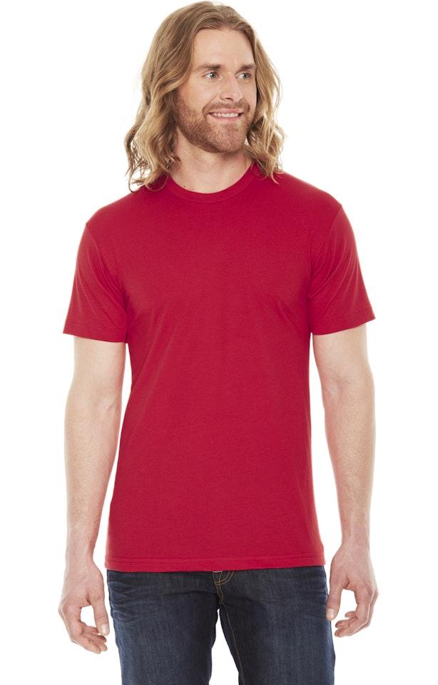 American Apparel BB401W Red