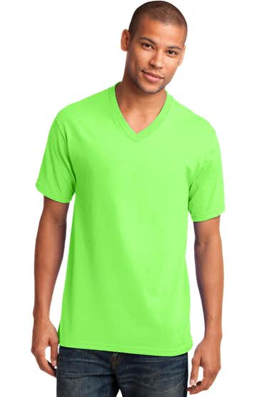 Port & Company PC54V Neon Green