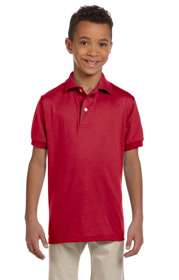 Jerzees 437Y True Red