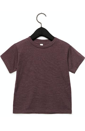 Bella + Canvas 3001T Heather Maroon