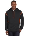 Sport-Tek F246 Black / Deep Orange