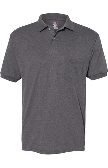 Hanes 054P Charcoal Heather