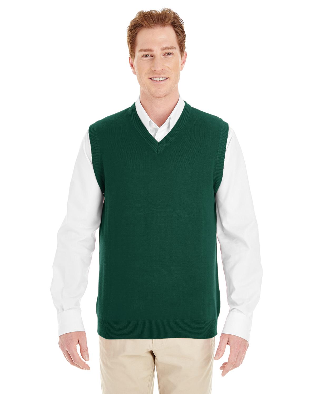 Port Authority Mens Value V-Neck Sweater/_Red/_Medium