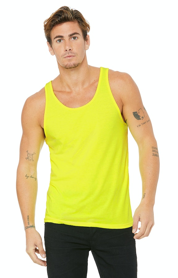Bella+Canvas 3480 Neon Yellow