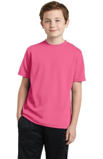 Sport-Tek YST340 Bright Pink