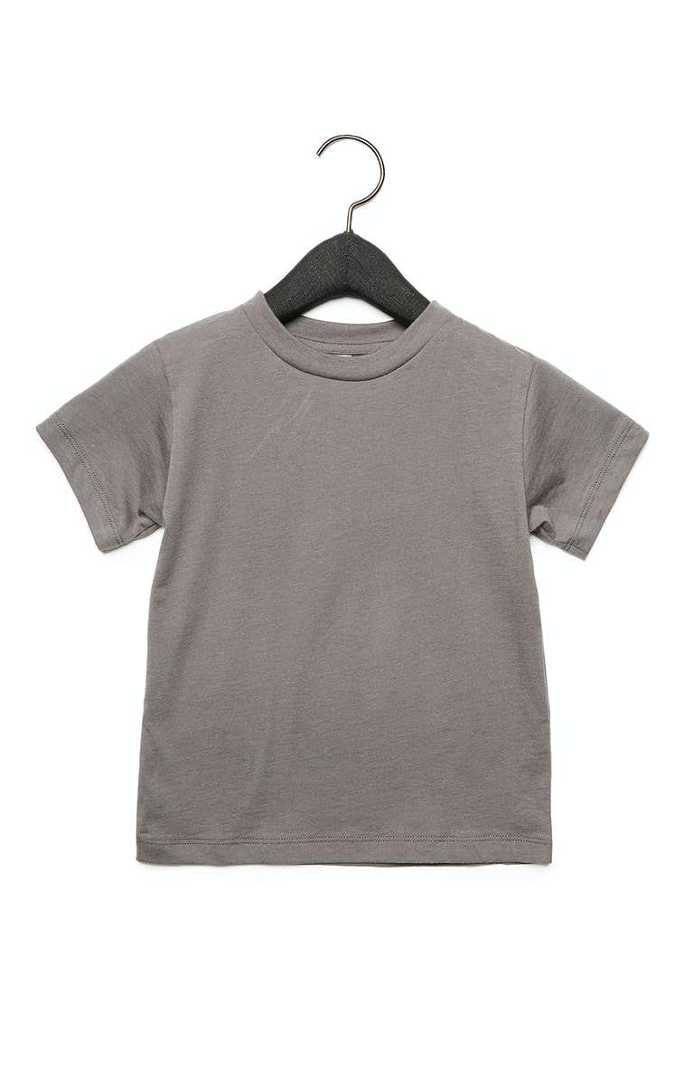 0554722e3bf Bella+Canvas 3001T Toddler Jersey Short-Sleeve T-Shirt - JiffyShirts.com