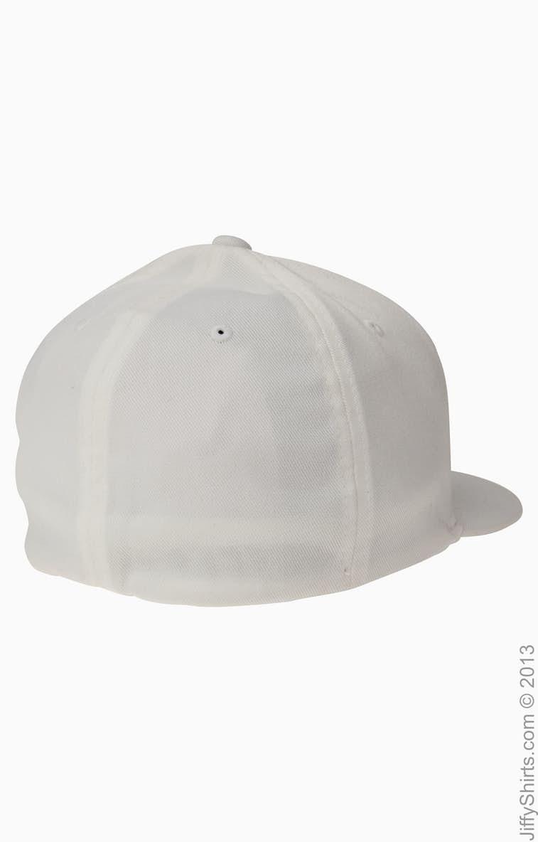 4fd5ce3f1fcad Flexfit 6297F Adult Wooly Twill Pro Baseball On-Field Shape Cap with Flat  Bill - JiffyShirts.com