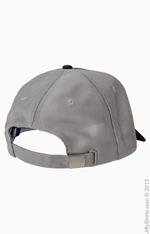 16d3c5bf7 Big Accessories OSTM Navy/Grey Old School Baseball Cap with Technical Mesh