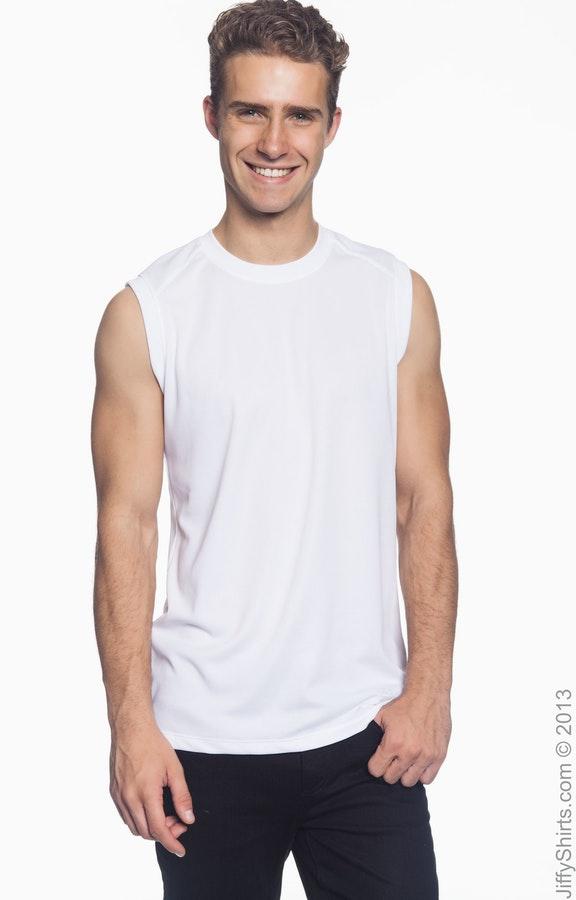 4a12275493c91 New Balance N7117 Men's Ndurance® Athletic Workout T-Shirt ...