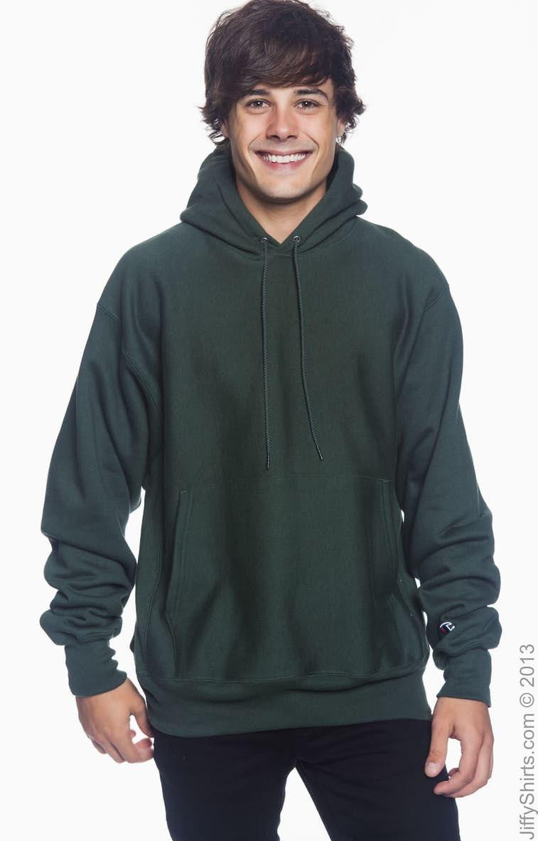 Champion S1051 Adult Reverse Weave® 12 oz. Pullover Hood - JiffyShirts.com 12dba5c81