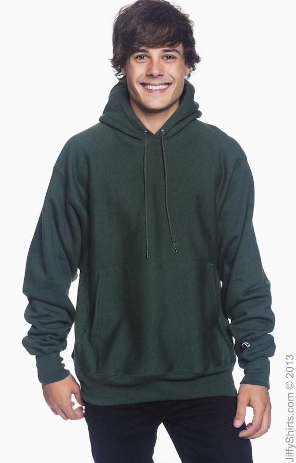 9fbb5f71 Champion S1051 Adult Reverse Weave® 12 oz. Pullover Hood - JiffyShirts.com