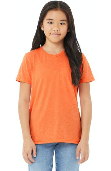 Bella + Canvas 3413Y Orange Triblend