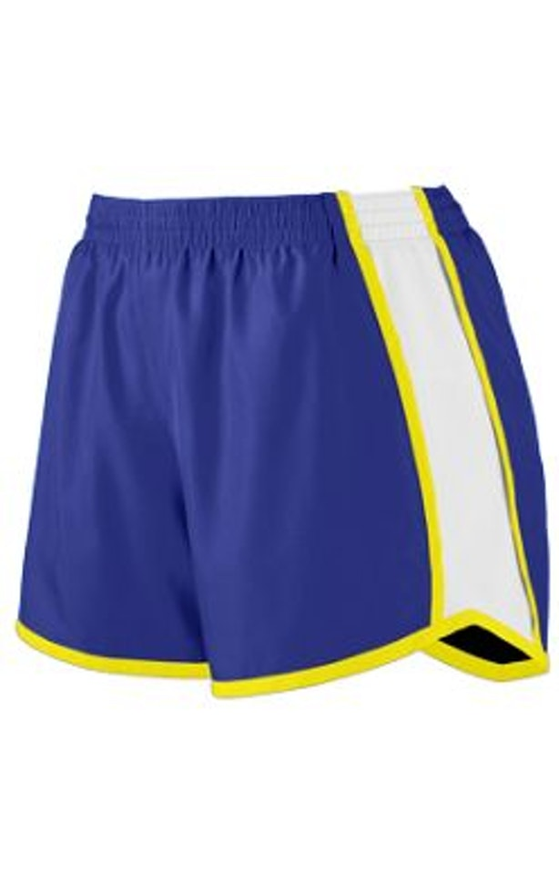 Augusta Sportswear 1265 Purple/White/Power Yellow