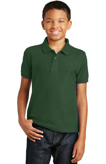 Port Authority Y100 Deep Forest Green