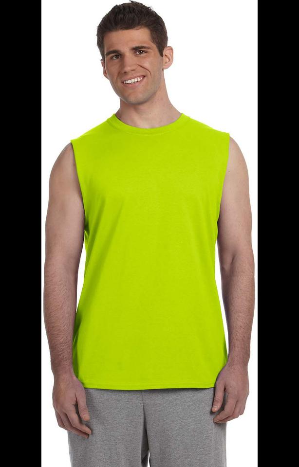 Gildan G270 High Viz Safety Green
