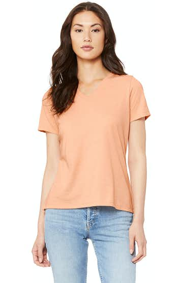 Bella + Canvas 6405 Heather Peach