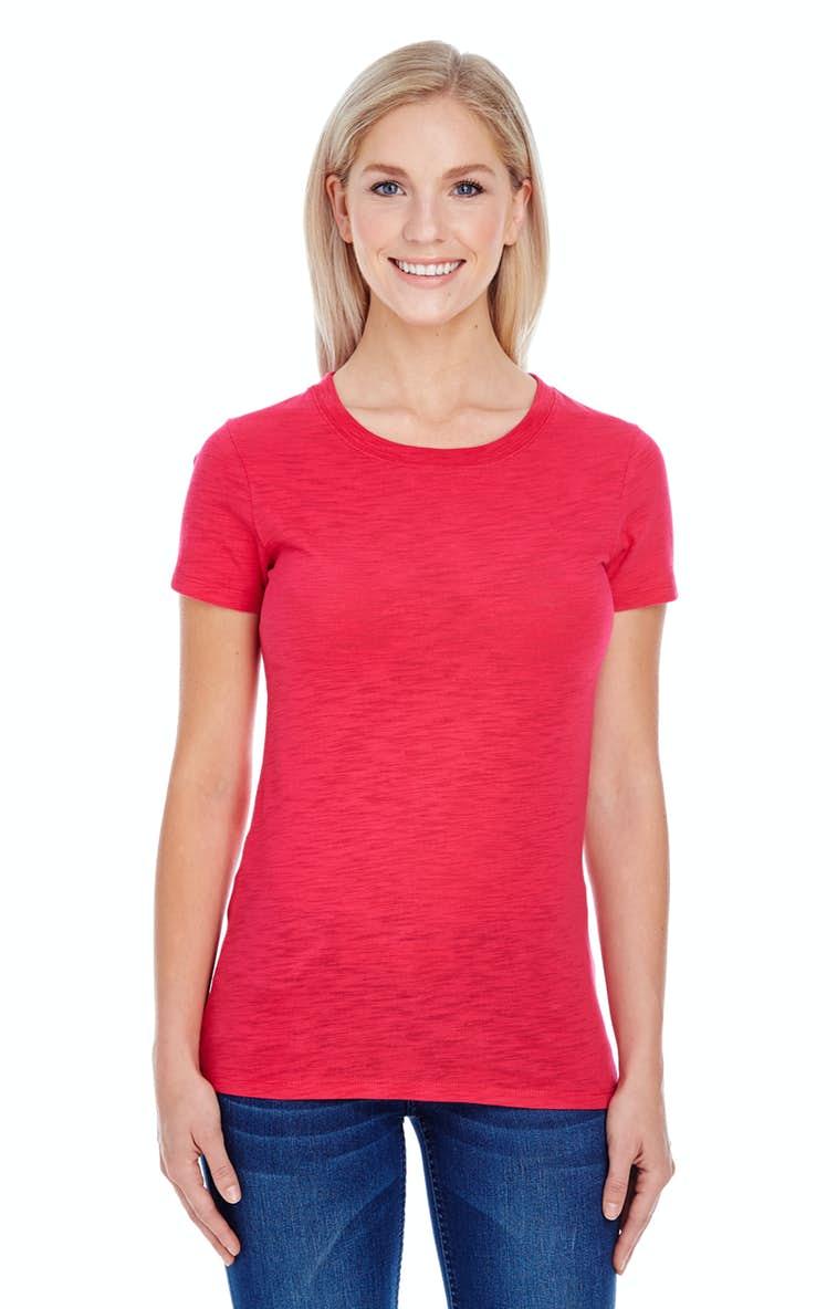 b09499cf Threadfast Apparel 201A Ladies' Slub Jersey Short-Sleeve T-Shirt ...