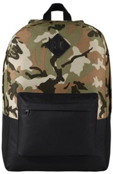 Port Authority BG7150 Mil Camo / Black