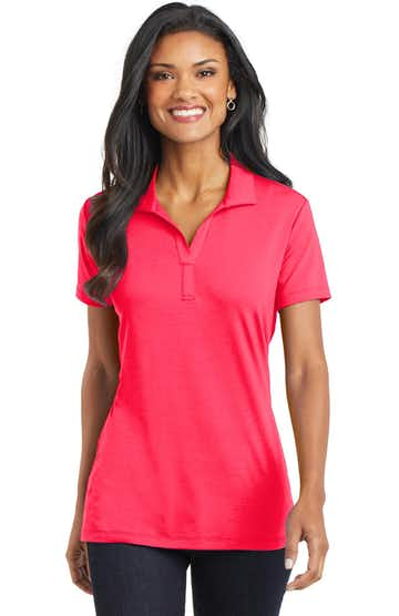 Port Authority L568 Hot Coral