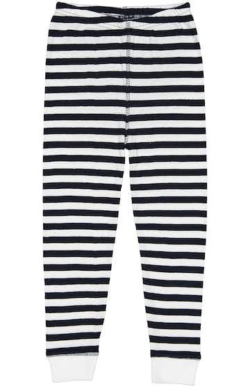 Rabbit Skins 202Z Navy & White Stripe