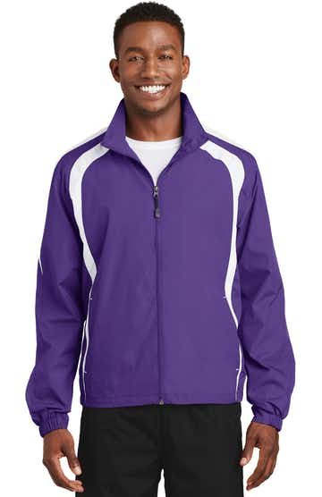Sport-Tek JST60 Purple / White