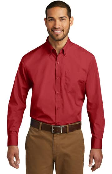 Port Authority W100 Rich Red
