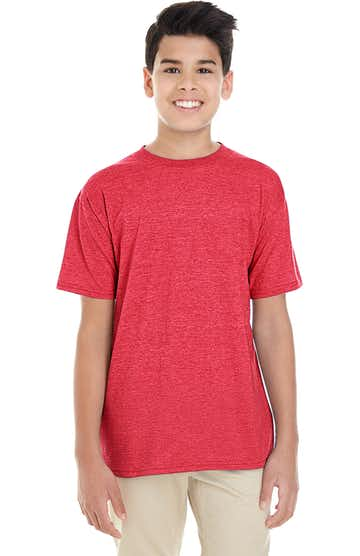 Gildan G645B Heather Red