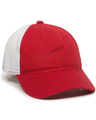 Outdoor Cap FWT-130 Red / White