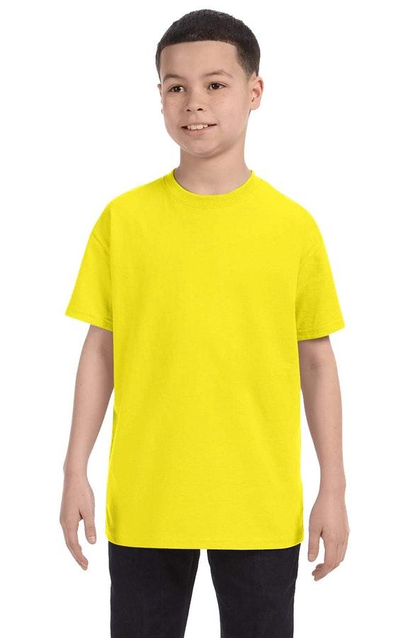 Jerzees 29B Neon Yellow
