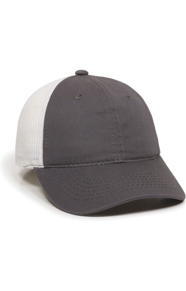 Outdoor Cap FWT-130 Charcoal / White