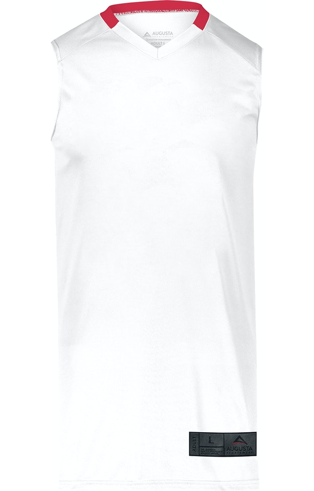 Augusta Sportswear 1730AG White / Red