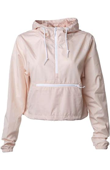 Independent Trading EXP64CRP Blush / White Zipper