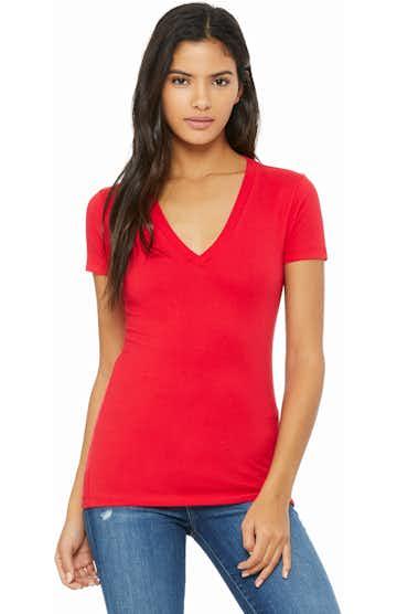 Bella + Canvas B6035 Red