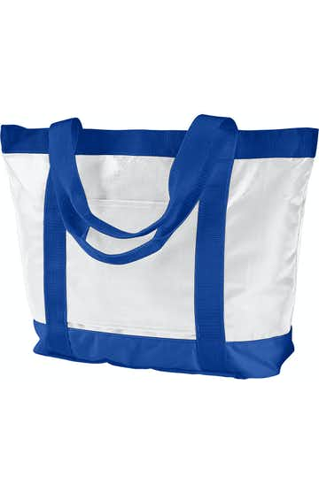 BAGedge BE254 White/ Royal