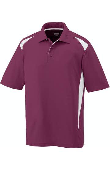Augusta Sportswear 5012 Maroon/White