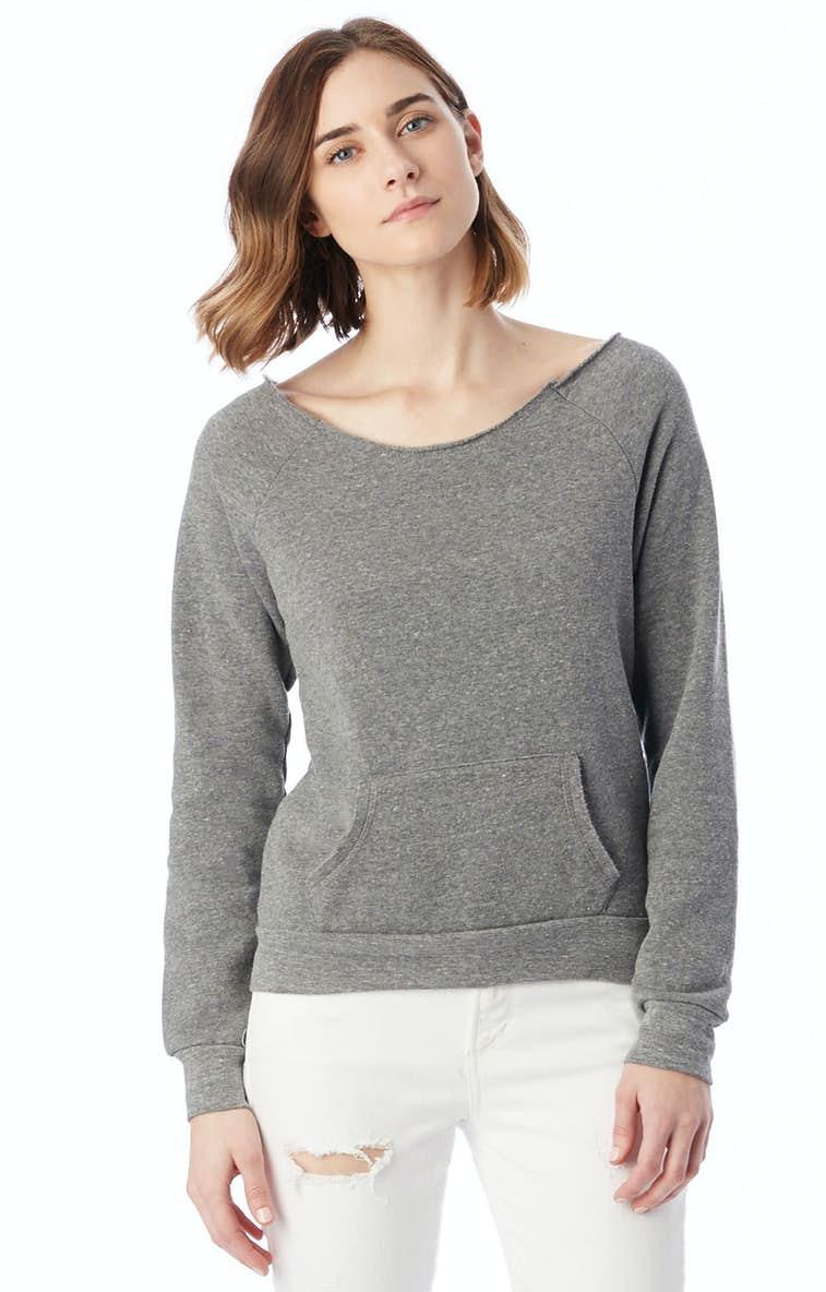 6b5d0a5d52a Alternative AA9582 Ladies' Maniac Eco-Fleece Sweatshirt ...