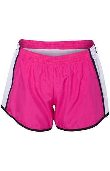 Augusta Sportswear 1265 Powder Pink/White/Black