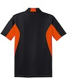 Sport-Tek ST655 Black / Deep Orange