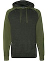 Independent Trading IND40RPJ1 Charcoal Heather / Army Heather