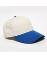 Pacific Headwear 0101PH Khaki/Royal