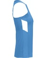 Augusta Sportswear 2437AG Columbia Blue / White