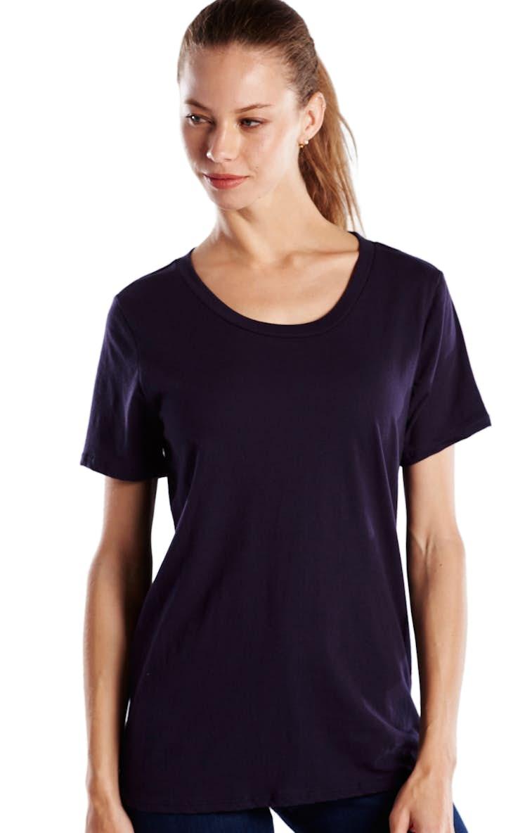 6abff254 US Blanks US115 Ladies' Short-Sleeve Loose Fit Boyfriend Tee ...